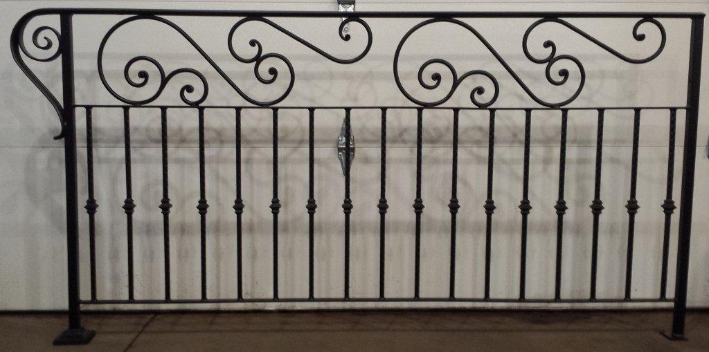Barandillas de hierro para escaleras forja tubo acero hierros barakaldo - Barandillas de hierro ...